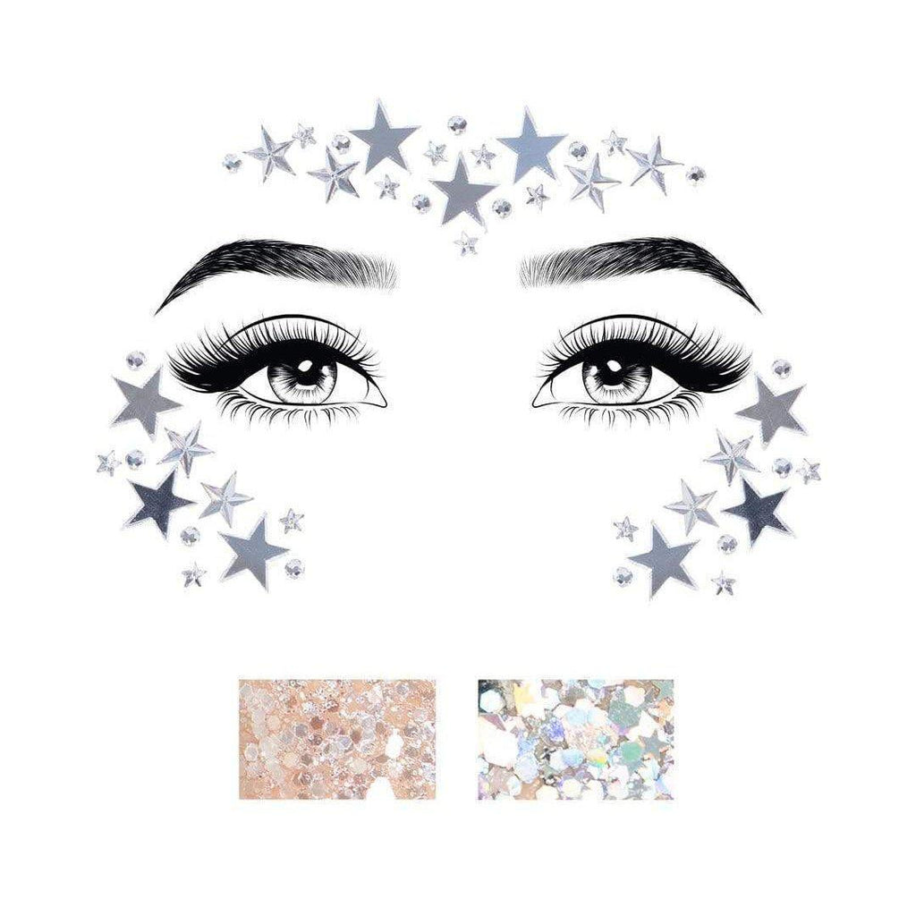 Dream Jewels Sticker - Silver LA-EYE028