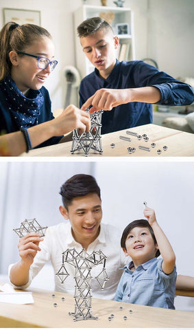 Magnetic Sticks And Balls Construction Set