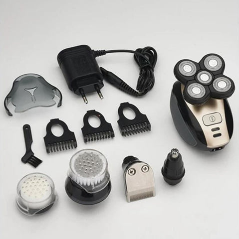skull shaver, electric head shaver for men, 5 in 1 mens electric shaver