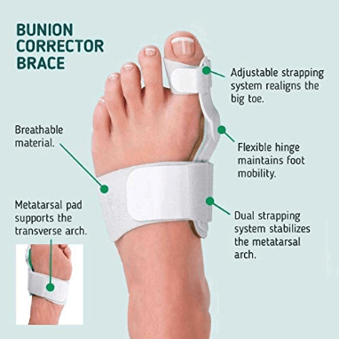 orthopedic bunion corrector splint toe corrector
