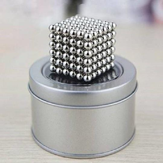 Magic Magnetic Balls Cube 3D Puzzle Toy (216 Pieces)