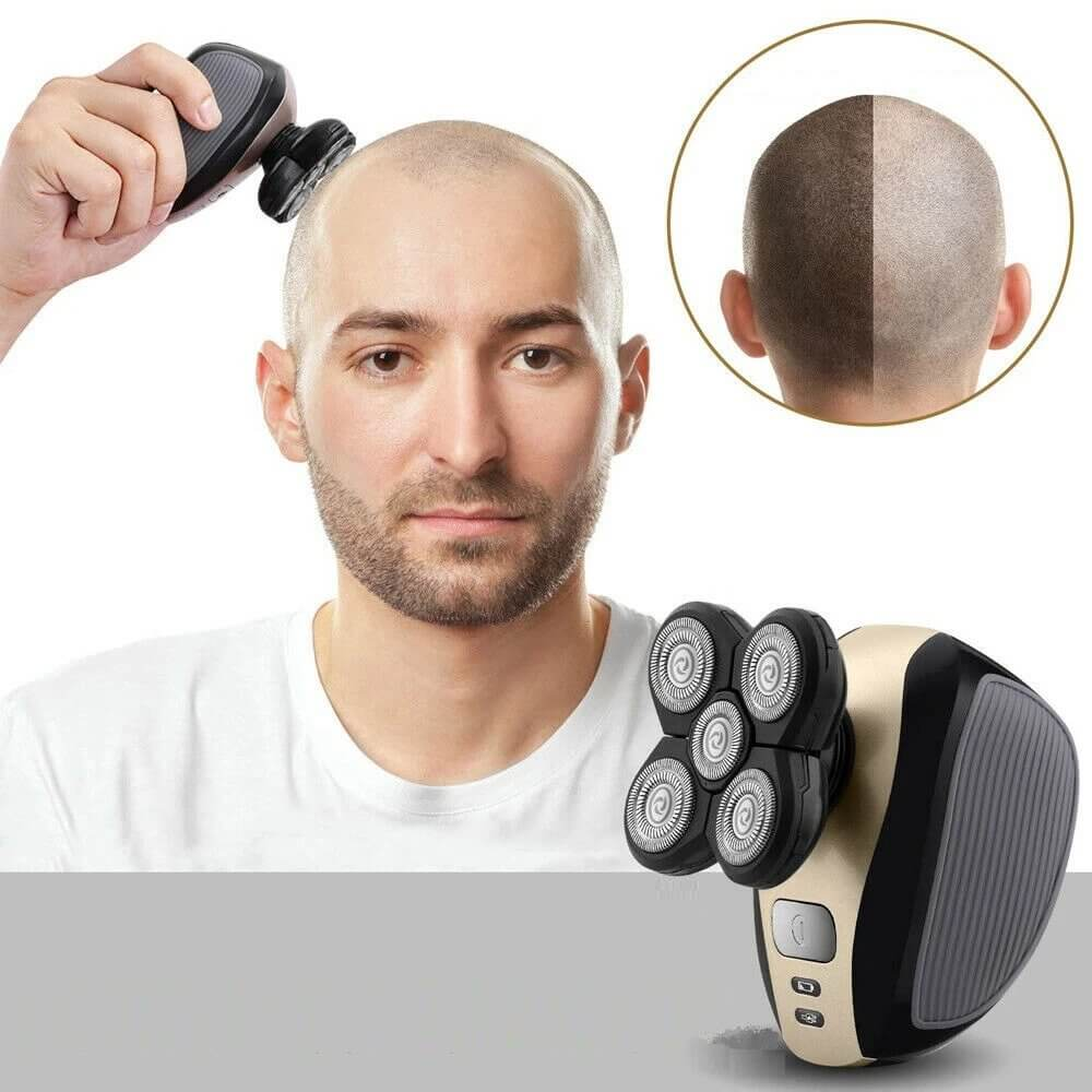 ProCut™ Bald Head Shaver 5-in-1 Electric Head Shaver & Grooming Kit –  Rabbit Quick