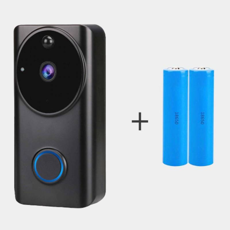 InterBell™ Wireless Doorbell Camera 1080P (New Version) With 2 Battery