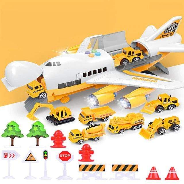 Airplane Toy Model for Kids ENGINEER