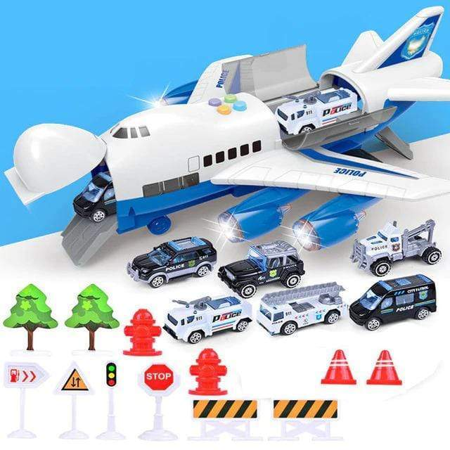 Airplane Toy Model for Kids POLICE