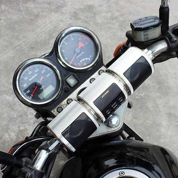 Loudest Bluetooth Motorcycle Handlebar Speakers (New Version)