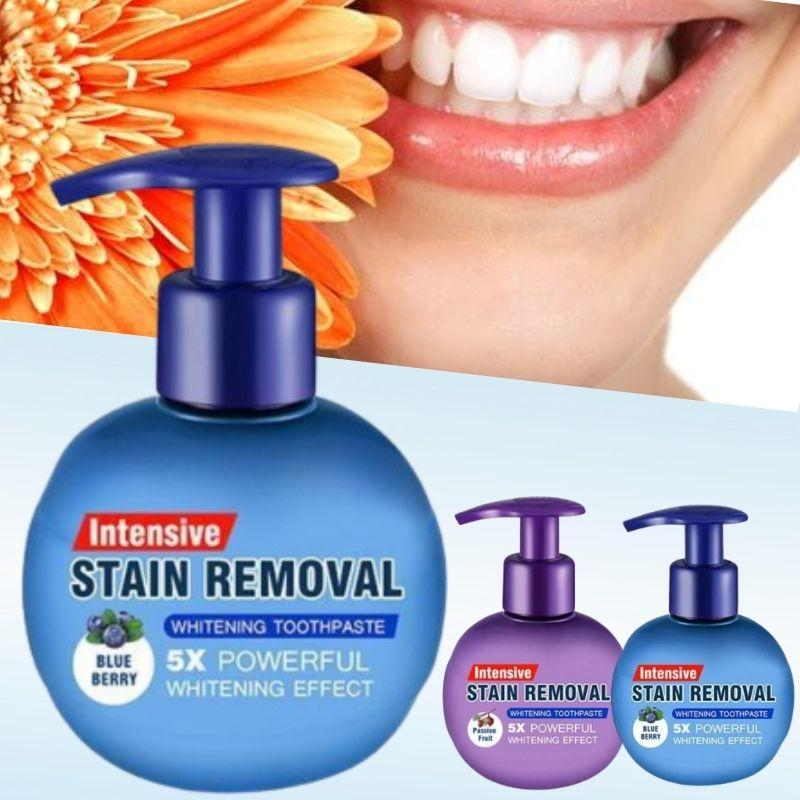Intensive Stain Removal Whitening Toothpaste BLUEBERRY