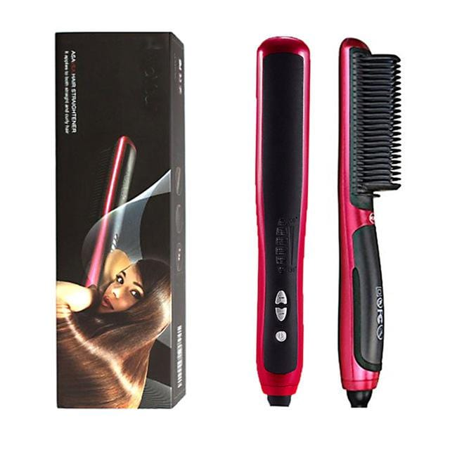 Hair Straightener Styler Brush