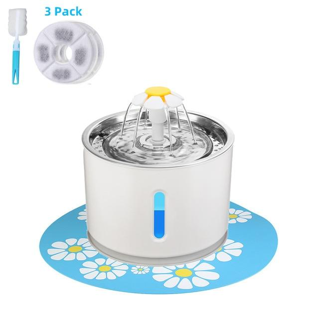 Pet Water Fountain Drinking Bowl
