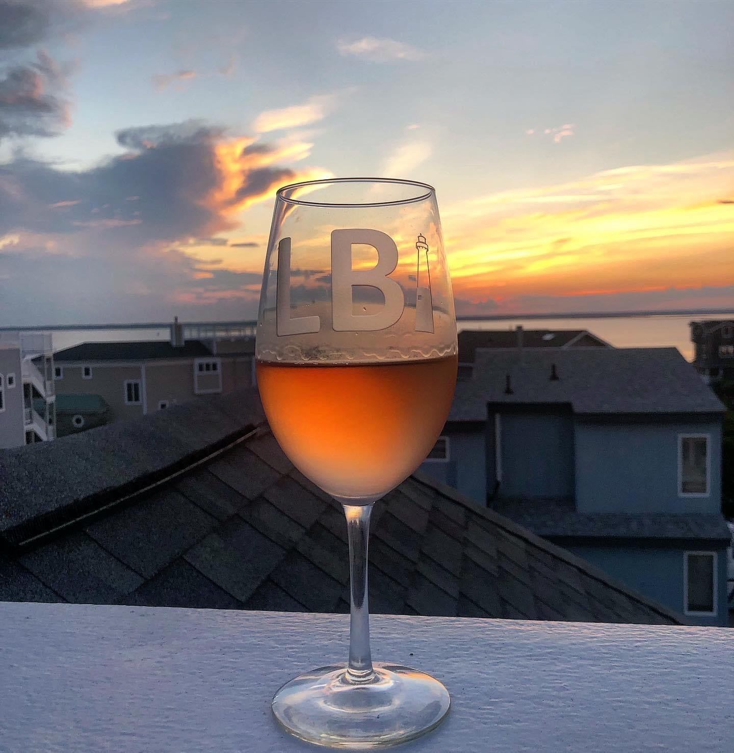 LBI Wine Glass