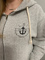 Load image into Gallery viewer, LBI One Happy Place Hoodie Zip