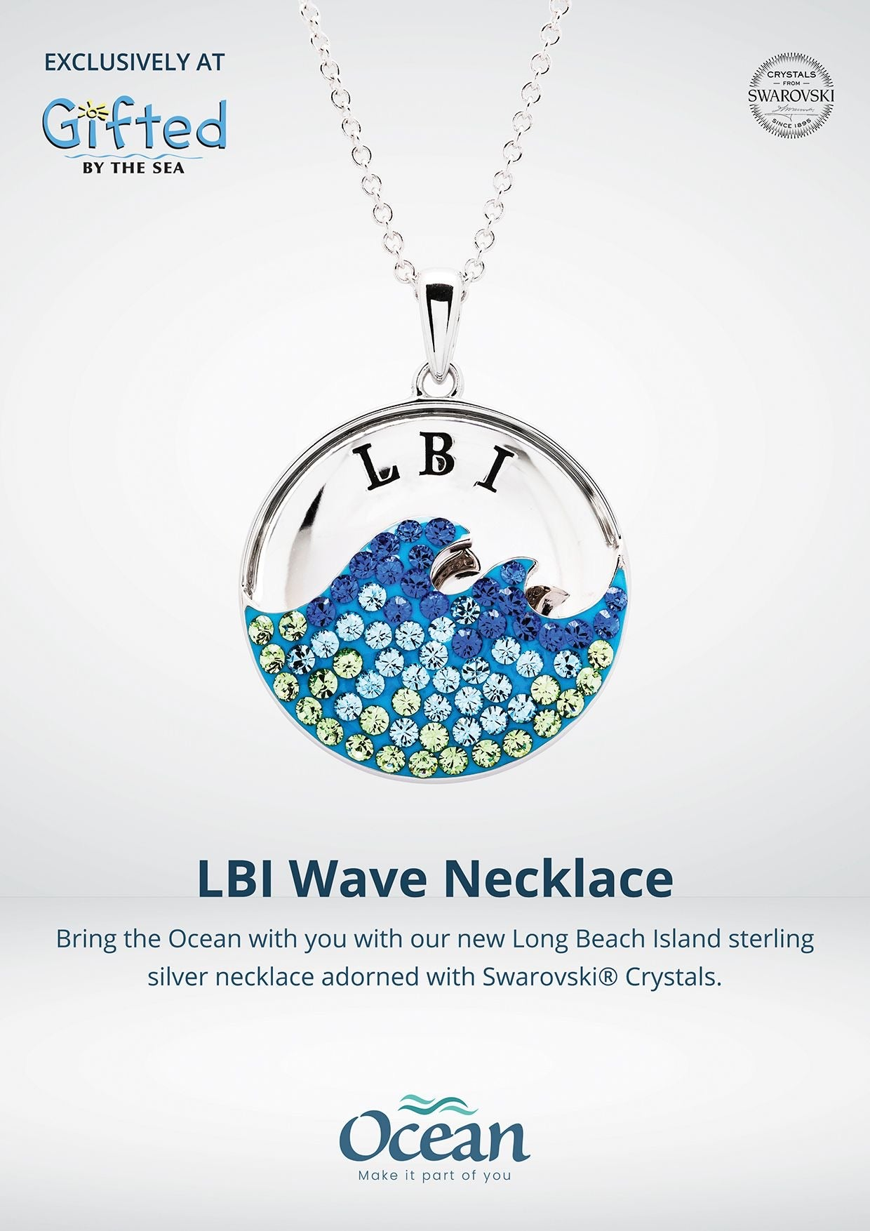 LBI Wave Necklace
