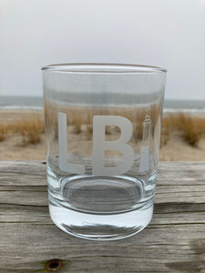 LBI On the Rocks Glass