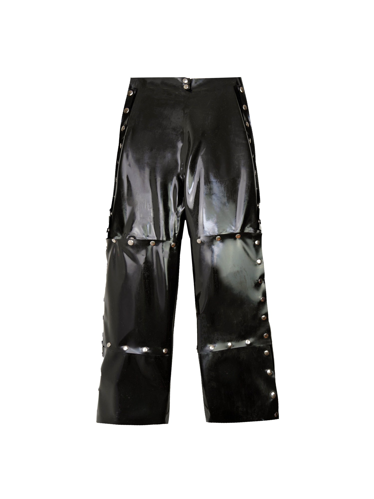 Studio Fclx PANDEMIC V Snap Button Latex Trousers