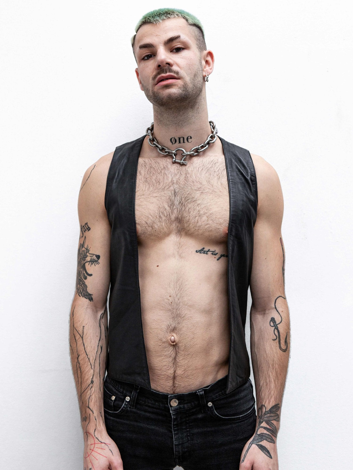 Verboten Leather Vest