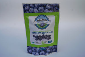 Three Peaks Organics Blueberries - Freeze Dried (15g)