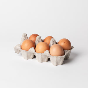 Happy Chook Eggs (1/2 dozen)