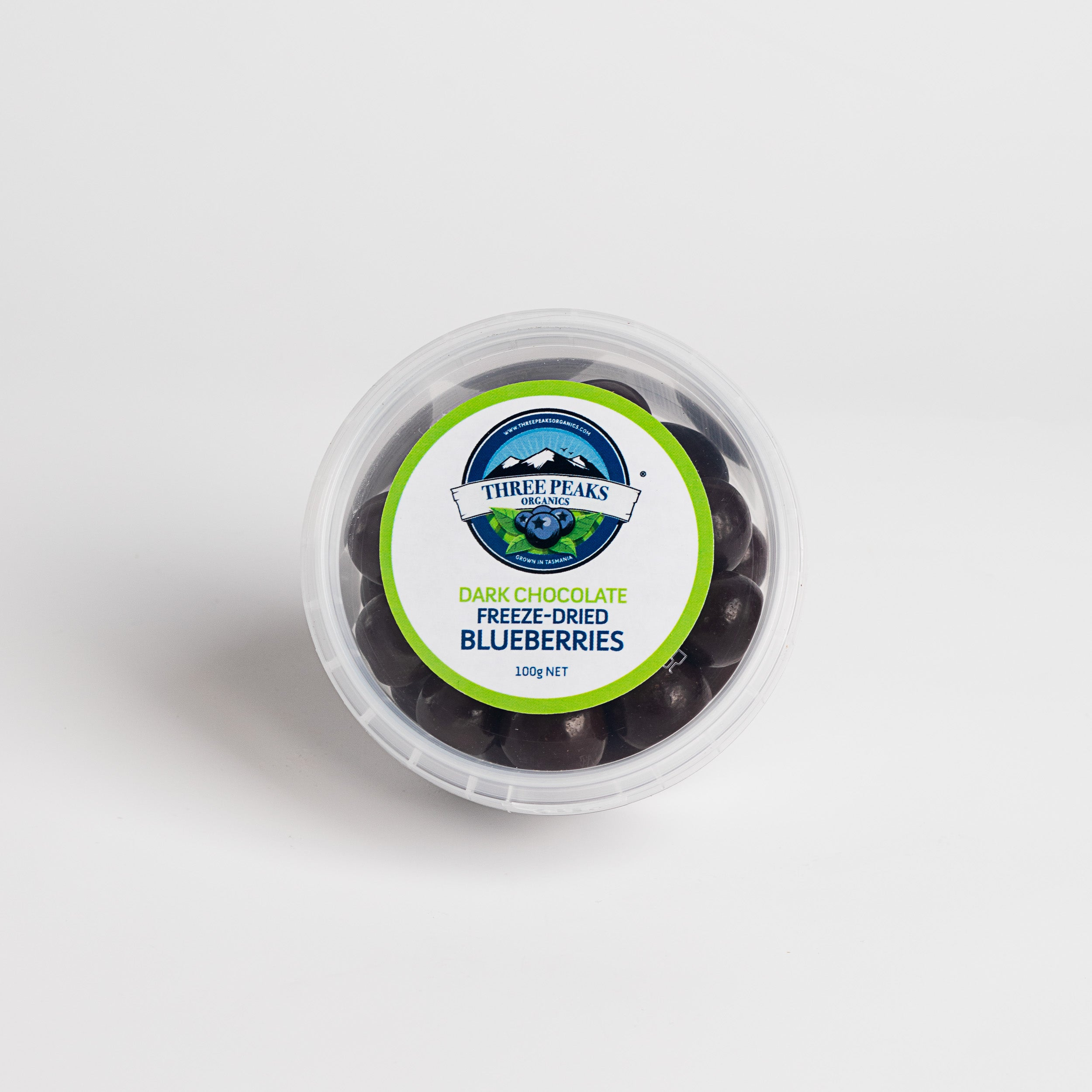 Three Peaks Organics Blueberries - Freeze Dried