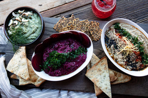 Catering Platter - Trio of Dips