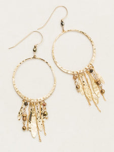 Holly Yashi -Altamira Hoop Earrings