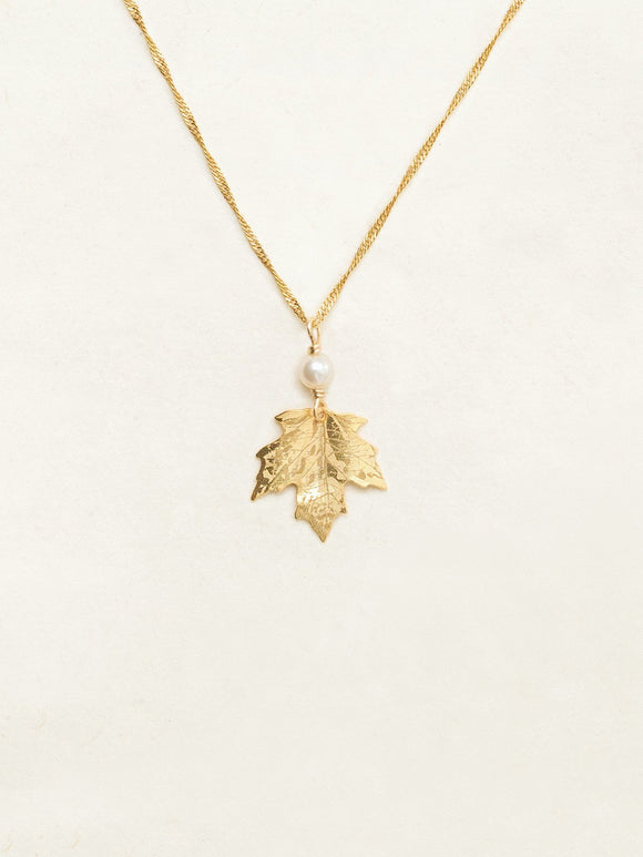 Holly Yashi- Sugar Maple Pendant Necklace