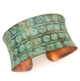 Anju Copper Patina Cuffs