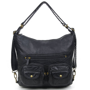 3-Way Cross Body Backpack
