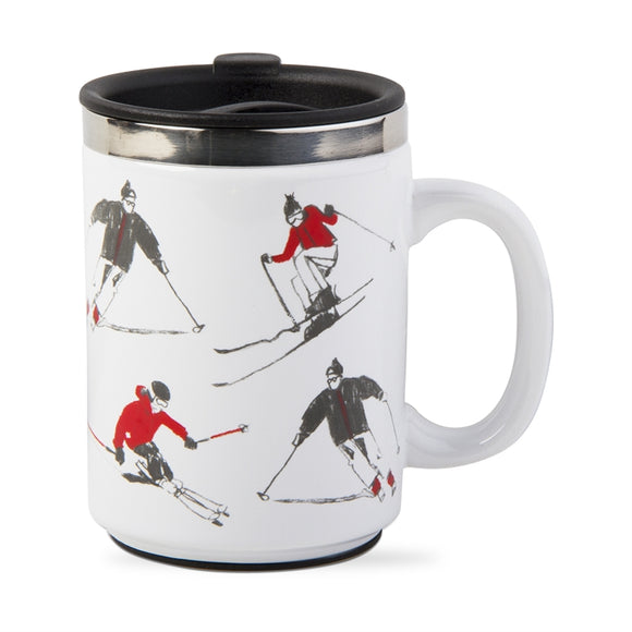 Insulated Skier Mug