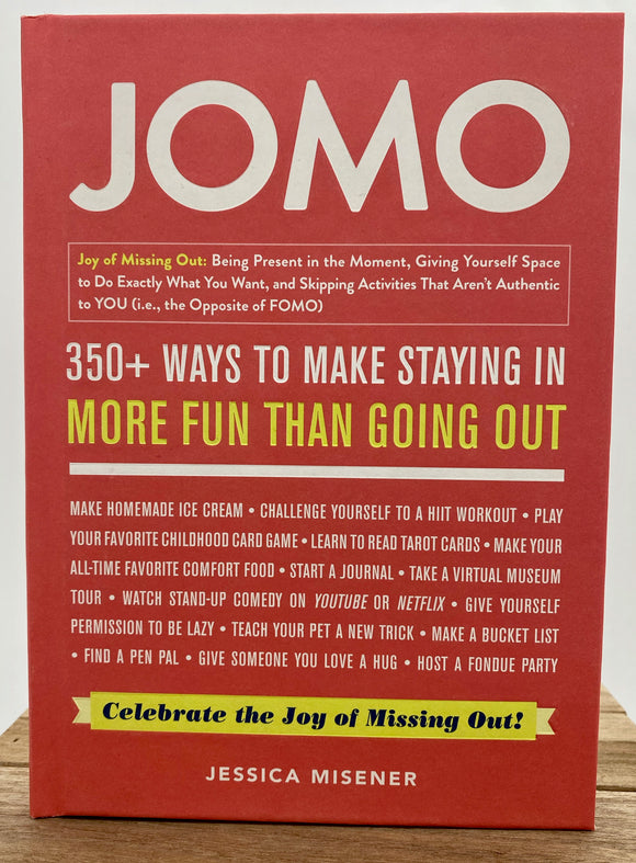 Book- The Joy of Missing Out