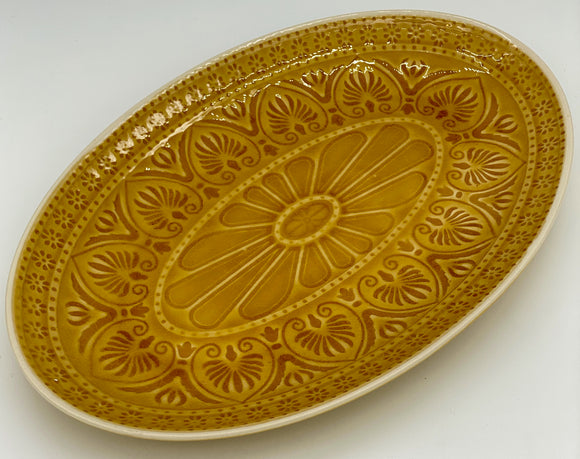 Oval Ceramic Serving Platter-large
