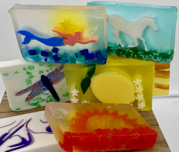 Sliced Glycerin Soaps