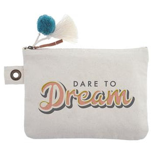 Cotton Canvas Carry-All Pouch