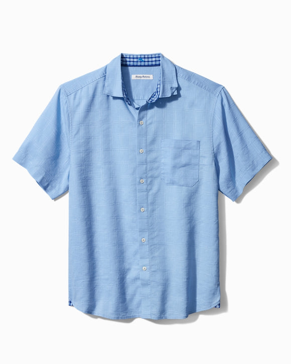 Men's Stretch Linen Camp Shirt