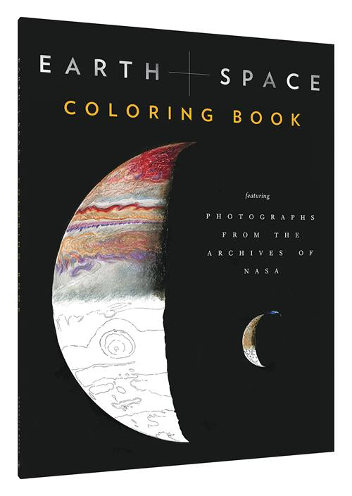 Earth + Space Coloring Book