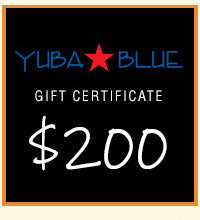 $200 Yuba Blue Gift Card