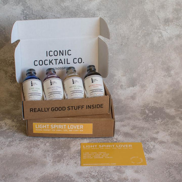 Iconic Cocktail Light Spirit Lover Mini Pack