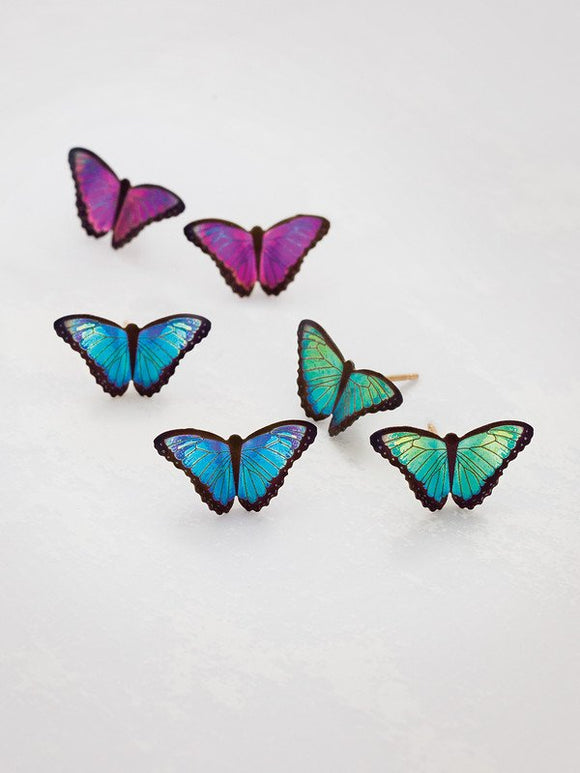 Holly Yashi- Bella Petite Butterfly Post Earring