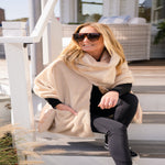 Load image into Gallery viewer, 3 in 1 Faux Fur Cowl Neck Wrap by Pretty Rugged