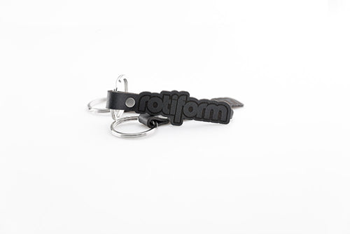 Rotiform Leather Keychain