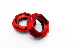 Hex Nut - Candy Red