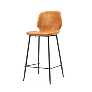 Seashell Barchair Low Cognac