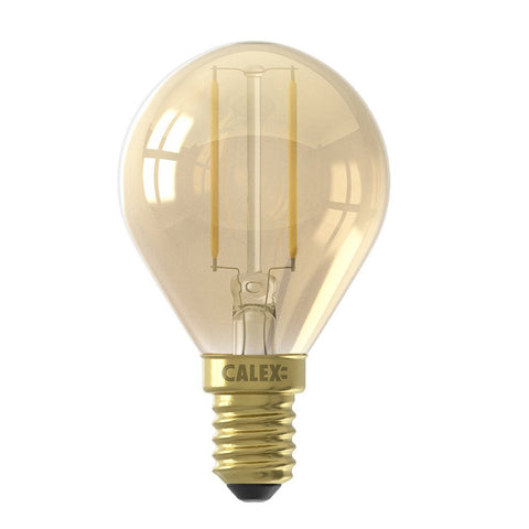 Kogellamp E14 LED Gold