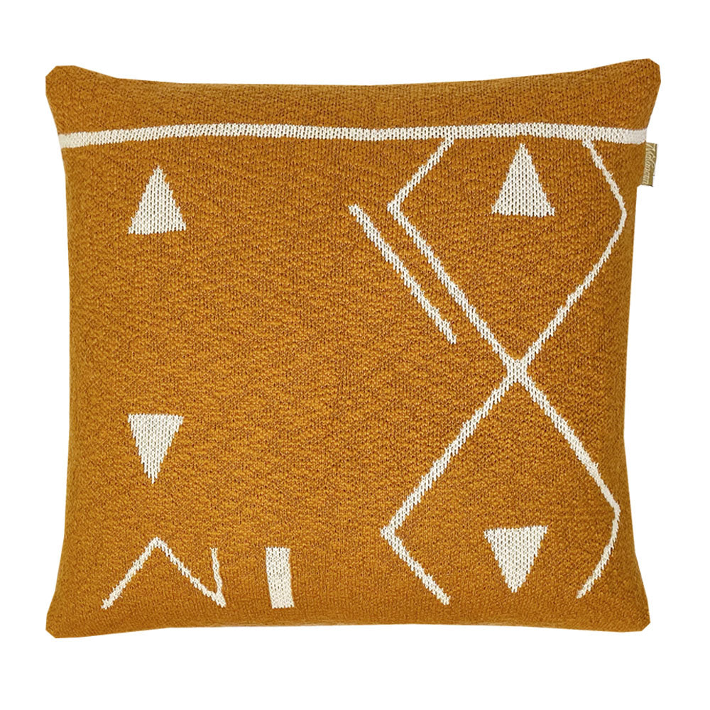Cushion fantasy yellow