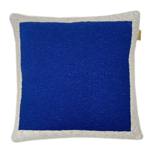 Cushion Solid poster blue
