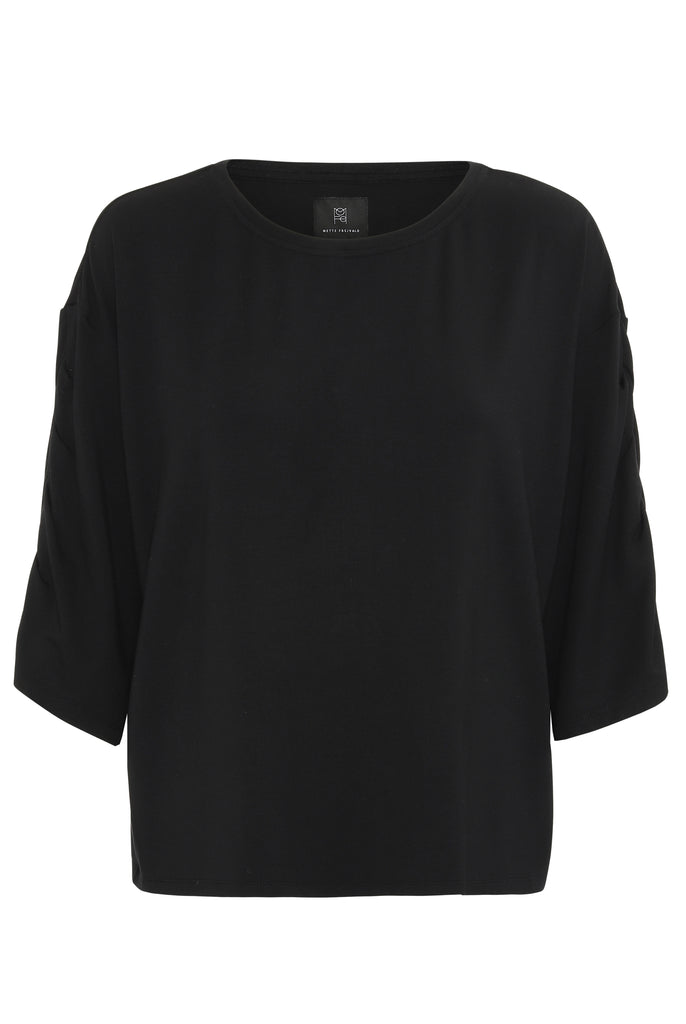 EMILY BLOUSE - BLACK