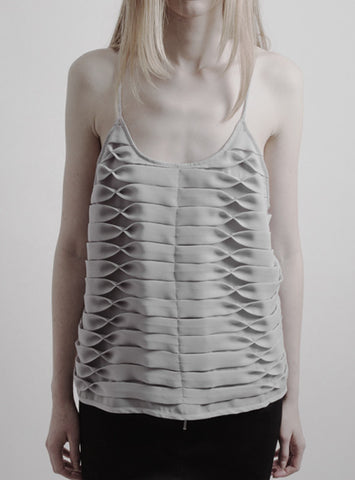 LIGHT GREY SIGNATURE TOP