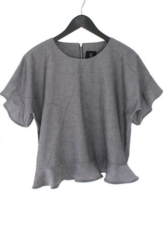 JUNE BLOUSE - GREY