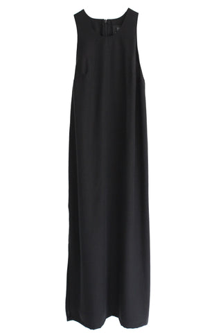 AGNES TENCEL DRESS - BLACK