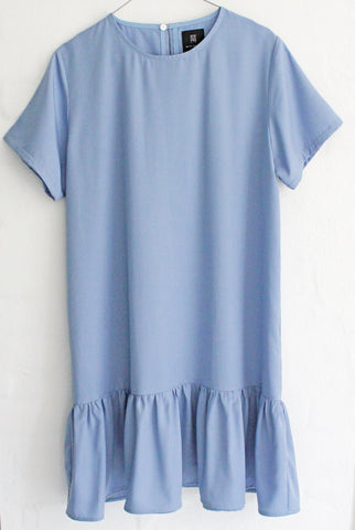 MICHA TENCEL DRESS - LIGHT BLUE