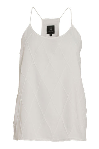TOP WITH RACERBACK - WHITE